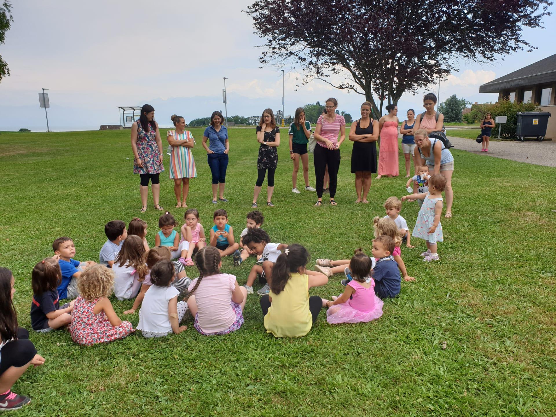 Groupe Parents-enfants le 4 juillet 2019