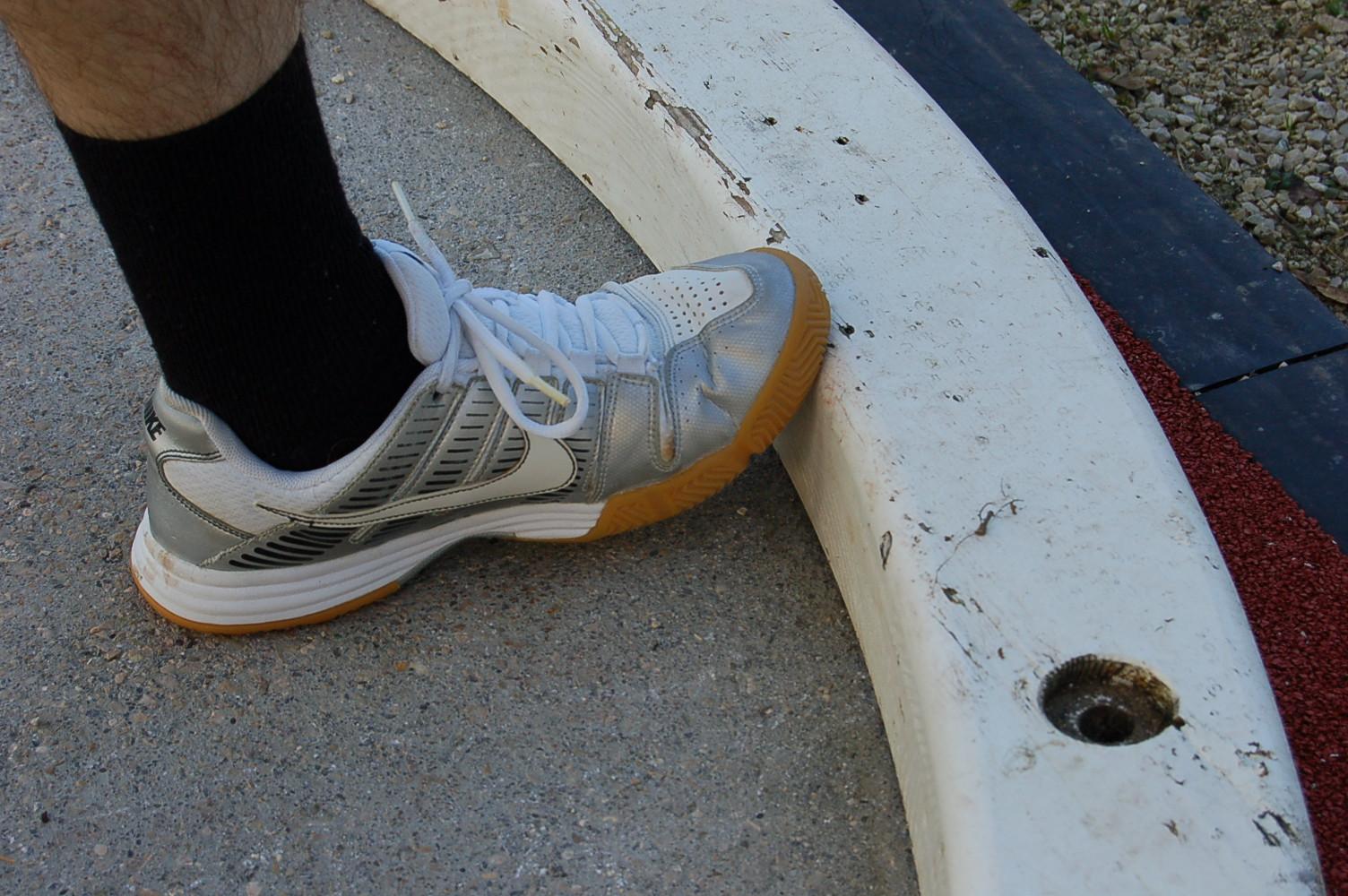 L'emplacement du pied est-il correct ?